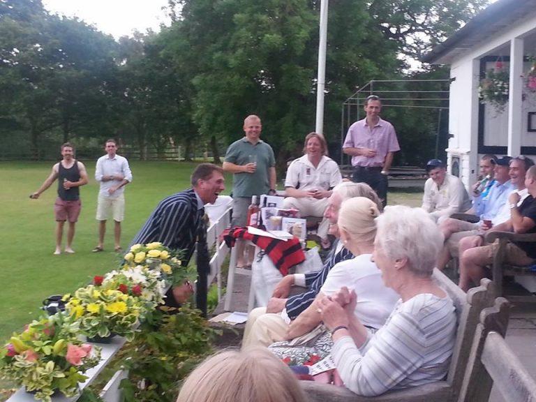 Cricket Party at Moseley Ashfield Photo