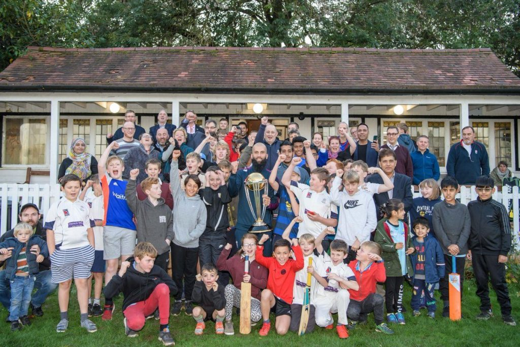 England Cricket Worldcup Comes to Moseley Ashfield Cricket Club